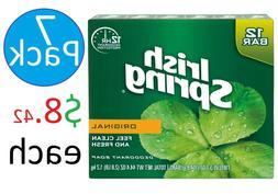 Irish Spring Original, Deodorant Bar Soap, 3.7 Ounce, 12 Bar