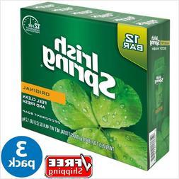 IRISH SPRING ® ORIGINAL Deodorant Bar Soap 3.7 oz - 12 Bar