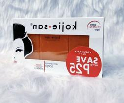 Original Kojie San Skin Lightening Kojic Acid Soap 65g x 3 1