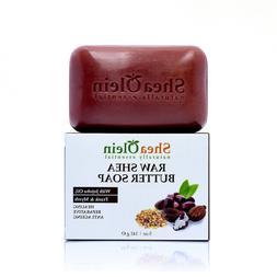 Raw Shea Butter Soap W/Jojoba oil, Frank & Myrrah by SheaOli