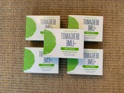Schmidt's Bergamot + Lime Natural Bar Soap 5 Bars 5 oz. Each