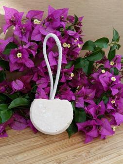 Shampoo Bar Soap on a Rope with Jojoba - Unscented - Palm Oi