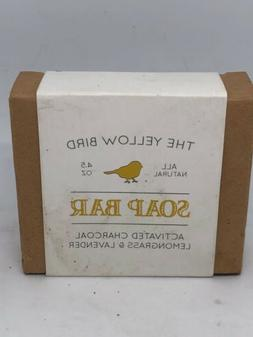 The Yellow Bird Soap Bar Activated Charcoal Lemongrass And L