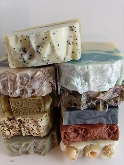 Handmade Soap Bar Bundle lot of Natural Homemade Handcrafted