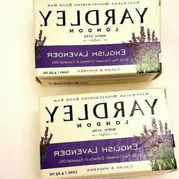 Yardley Soap English Lavender - 2 Bath Bars Moisturizing