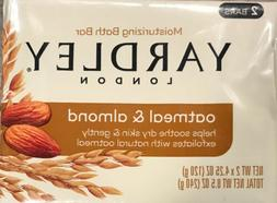 Oatmeal and Almond Bar Soap by Yardley - 2 x 4.25 oz Soap by