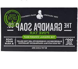 Grandpa's Soap Pine Tar Bar Soap - 3.25 Oz, 6 pack