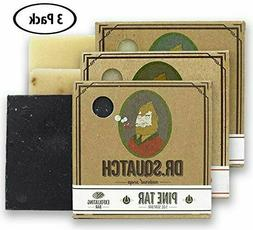 Dr. Squatch Men's Soap Sampler Pack  – Pine Tar, Cedar Cit