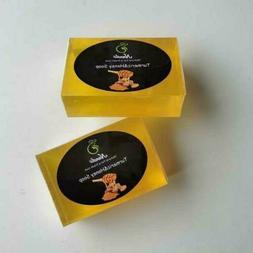 Turmeric and Honey Soap.Natural and hand made bar soap.120g