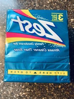 Vintage 1992 Original Aqua Zest Family Deodorant Bar Soap NE