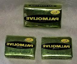 Vintage Palmolive Bar Soap  Green Foil Packages 1950s 1 Bath