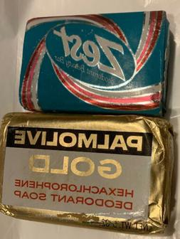 Colgate Palmolive Gold Soap Hexachlorophene Deodorant & Zest