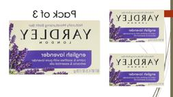 Yardley of London Naturally Moisturizing Bar Soap, English L