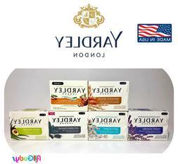 Yardley Soap Bars Lavender Jasmine Shea Buttermilk Oatmeal A
